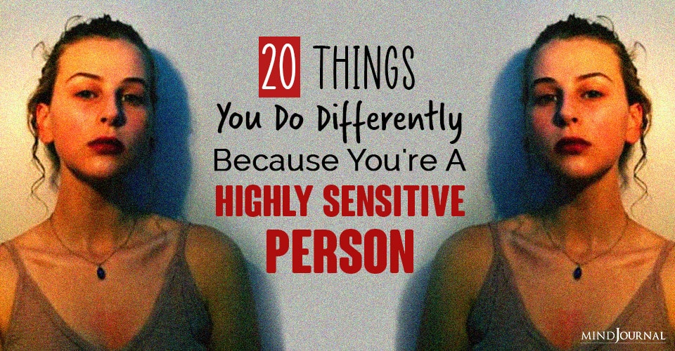 Things You Do Differently