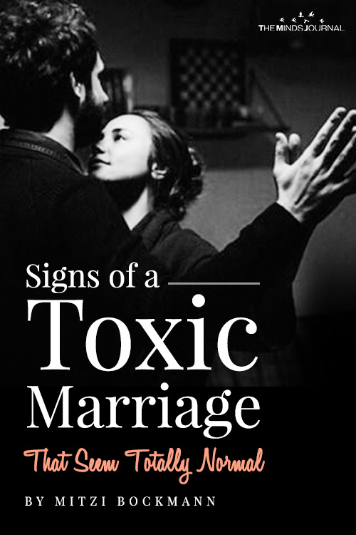 Toxic Marriage Seem Totally Normal pinterest