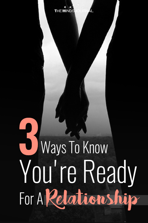 Ways To Know You're Ready For A Relationship pinterest