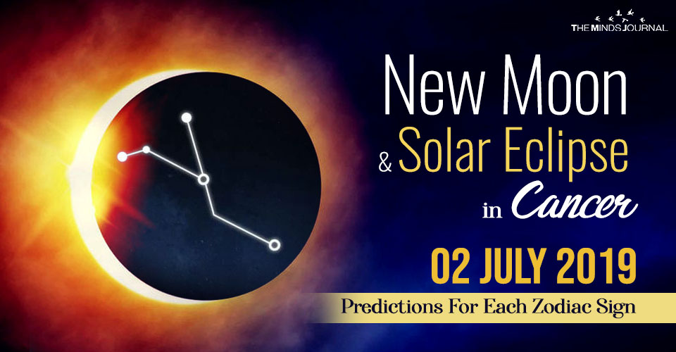 Your Predictions for the New Moon and Solar Eclipse in Cancer 02 July 2019
