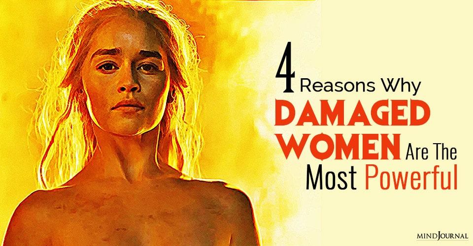 damaged women