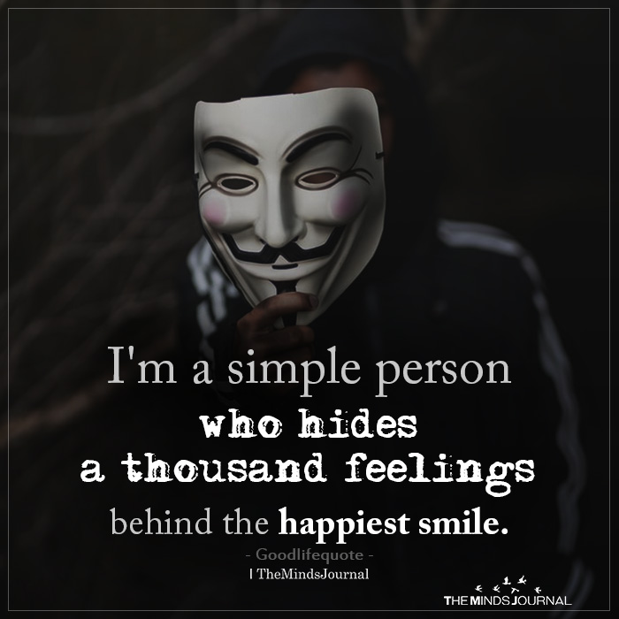 i am a simple person