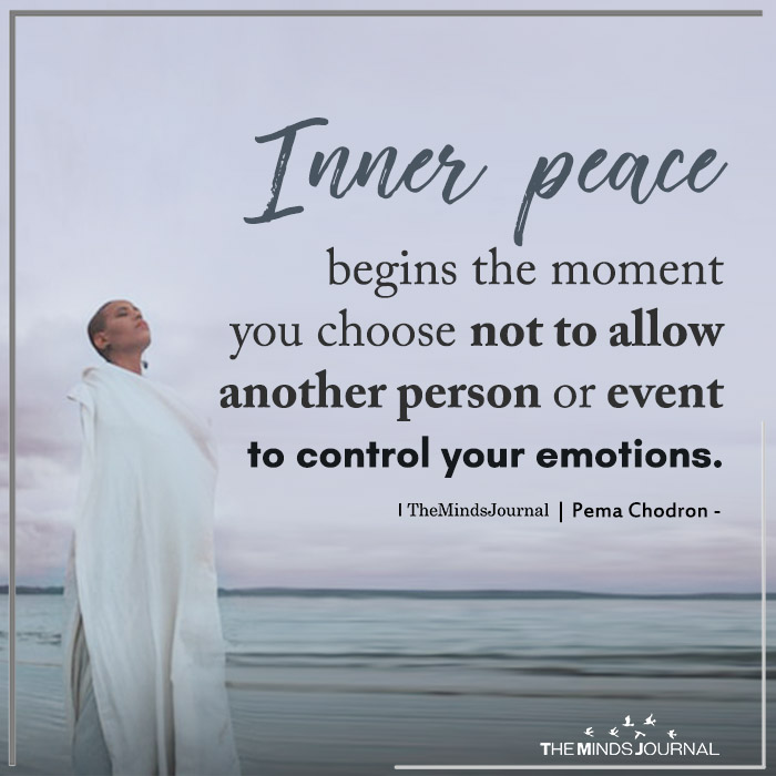 inner peace begins at the moment