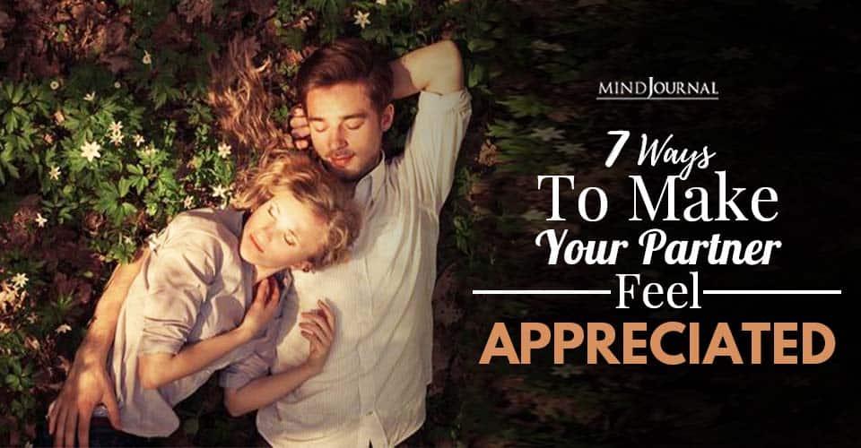 make partner feel appreciated