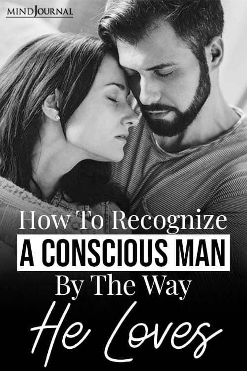 recognize a conscious man pin