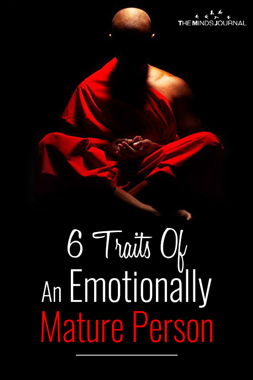 traits emotionally mature person pinterest