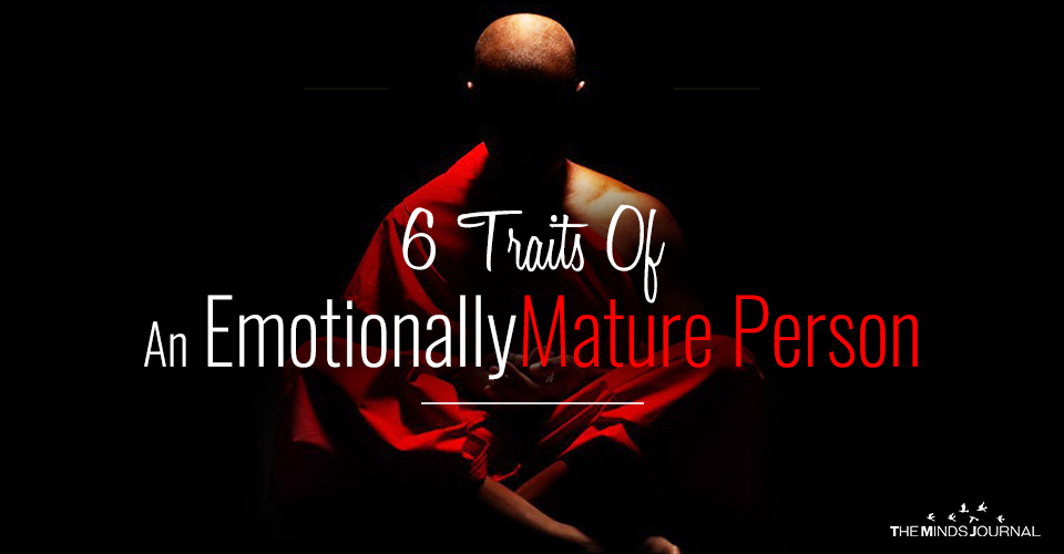 traits emotionally mature person