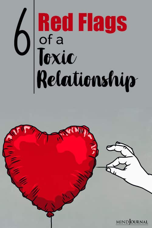 warning signs of a toxic relationship pin