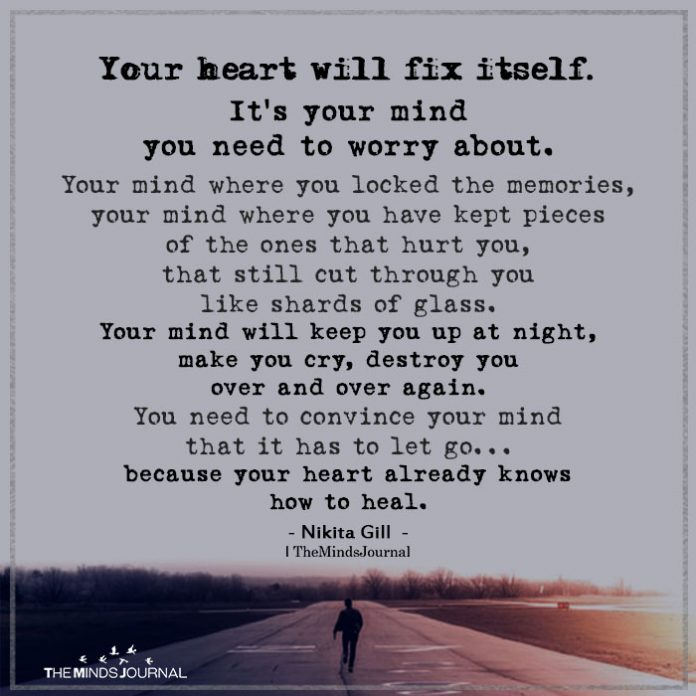 your heart will fix itself