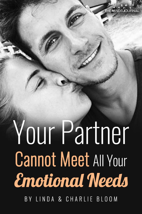 your partner cannot fulfill all your emotional needs pin
