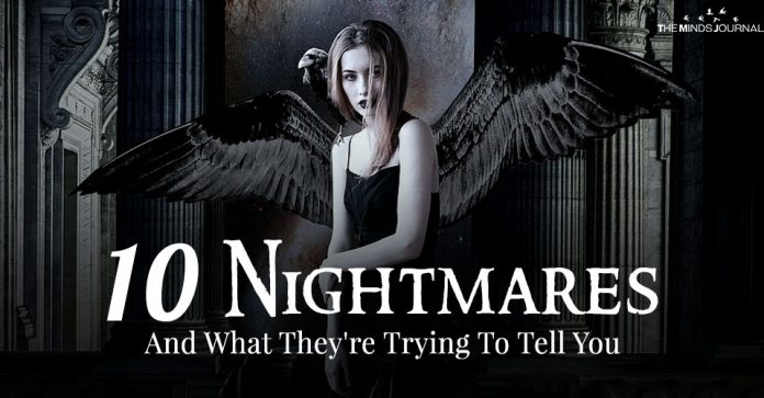 10 Nightmares And What They Are Trying To Tell You