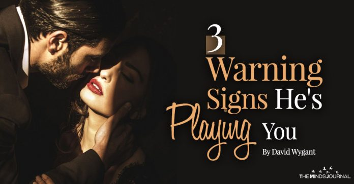 Warning Signs He's Playing You
