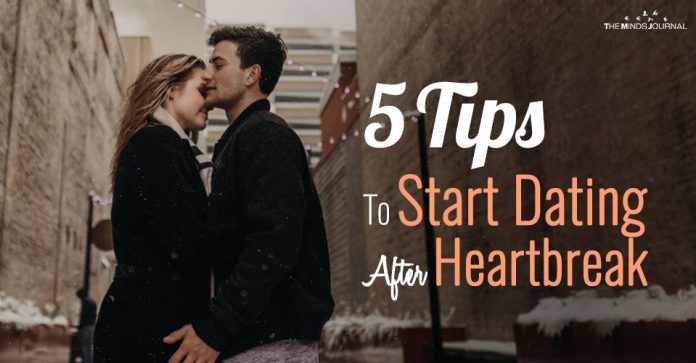 5 Tips To Start Dating After Heartbreak