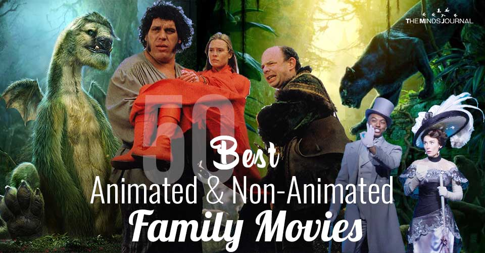 50 Best Animated and Non-Animated Movies To Watch With Your Kids