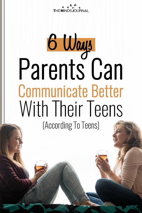 6 Ways Parents Can Communicate Better With Their Teens (According To Teens)