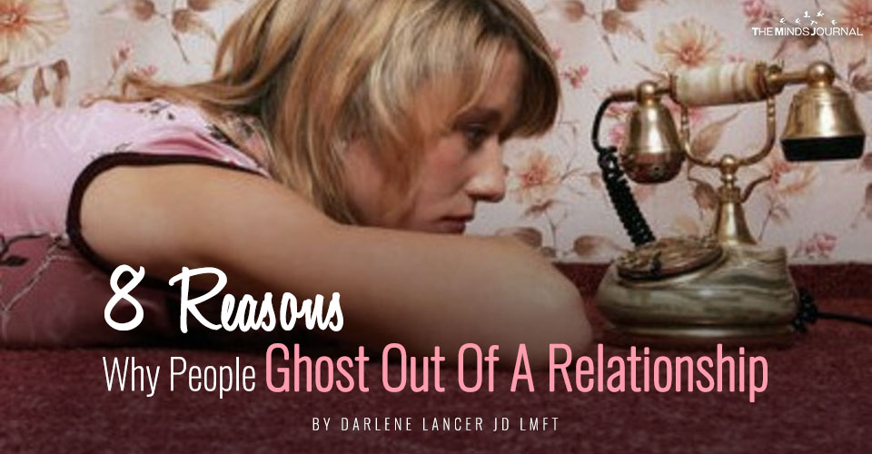 8 Reasons Why People Ghost Out Of A Relationship