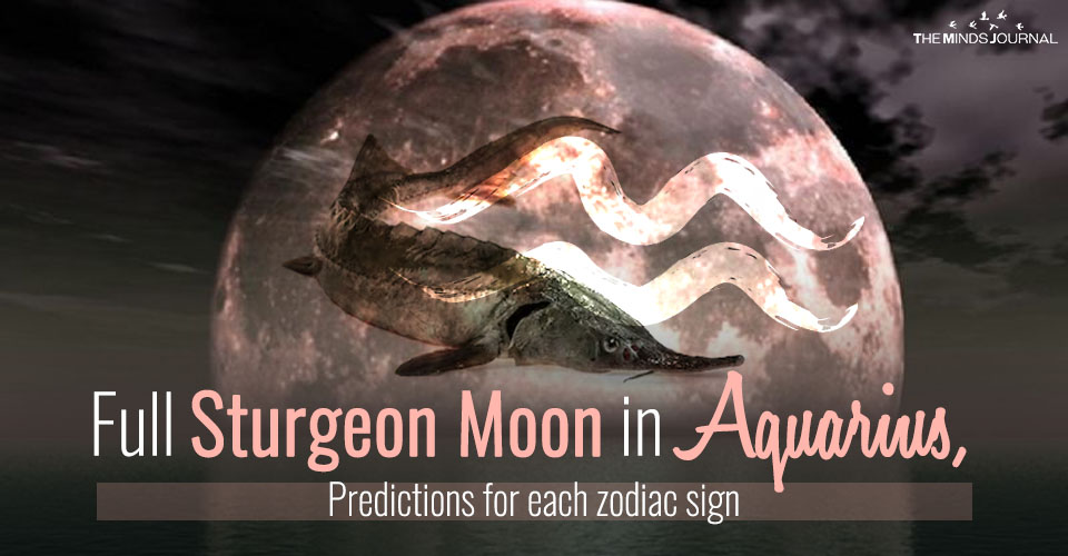 Your Horoscope for the Full Moon in Aquarius – 15 August 2019