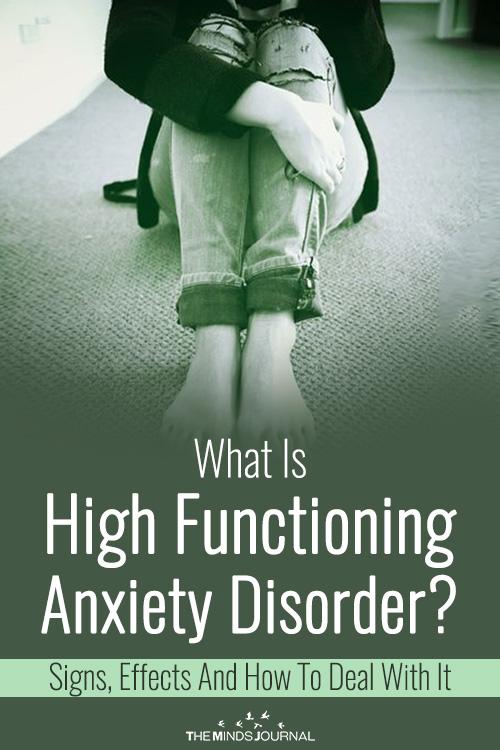 High Functioning Anxiety Disorder pin