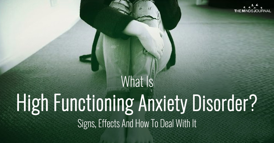 High Functioning Anxiety Disorder