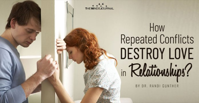 How Repeated Conflicts Destroy Love in Relationships
