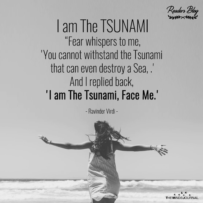 I am The TSUNAMI