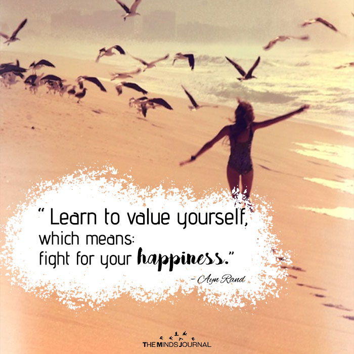 Learn to value yourself