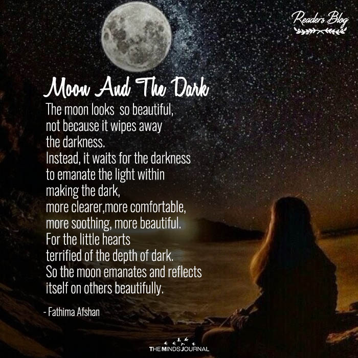 moon and the dark