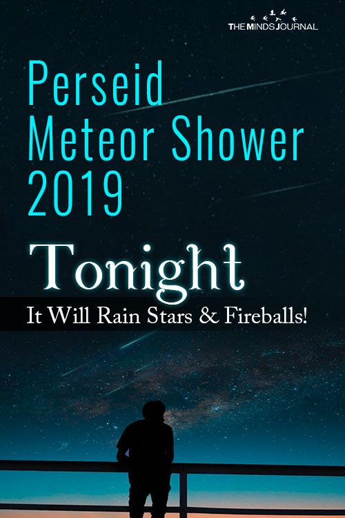 Perseid Meteor Shower 2019 pin