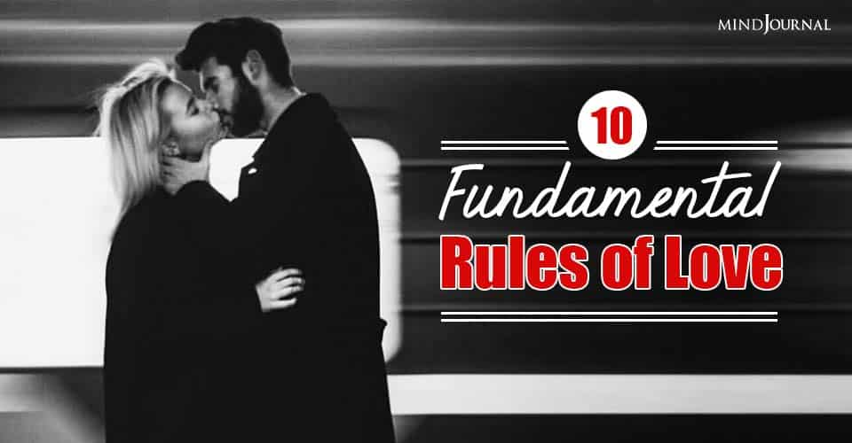Ten Fundamental Rules of Love