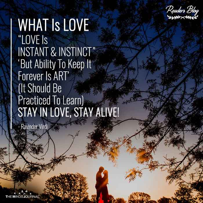 """""""WHAT Is LOVE"""""""