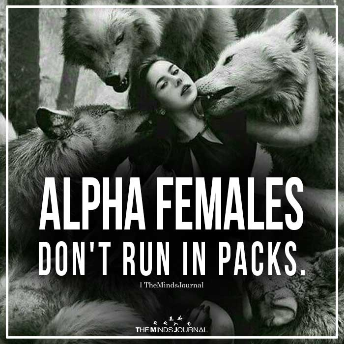 Alpha Females Don't