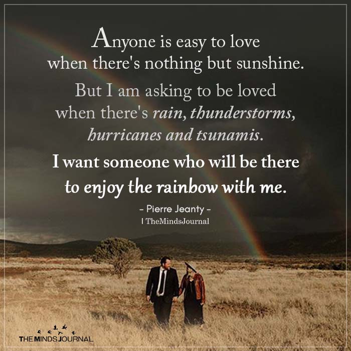 anyone is easy to love