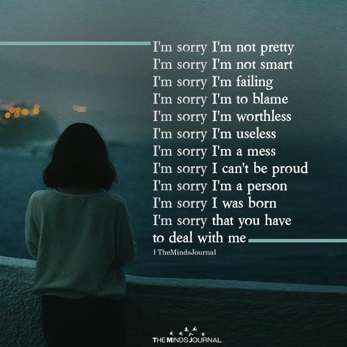 i am sorry i am not pretty