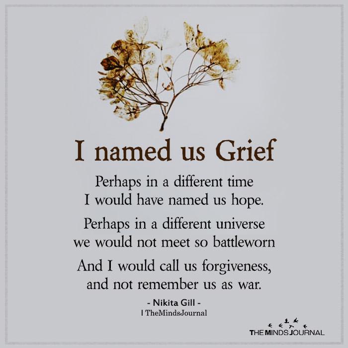 i named us grief