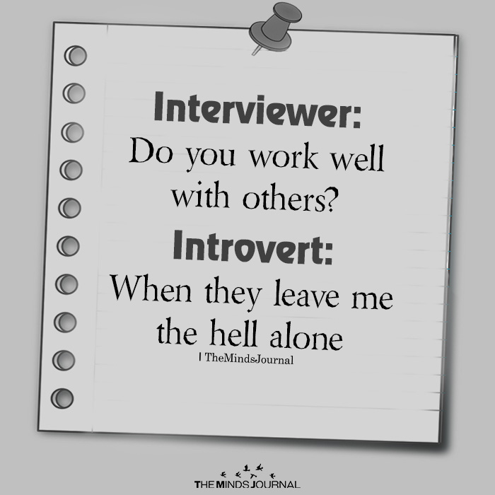Interviewer: Do You Work Well With Others?