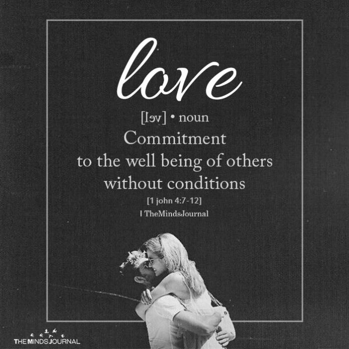 love is commitment