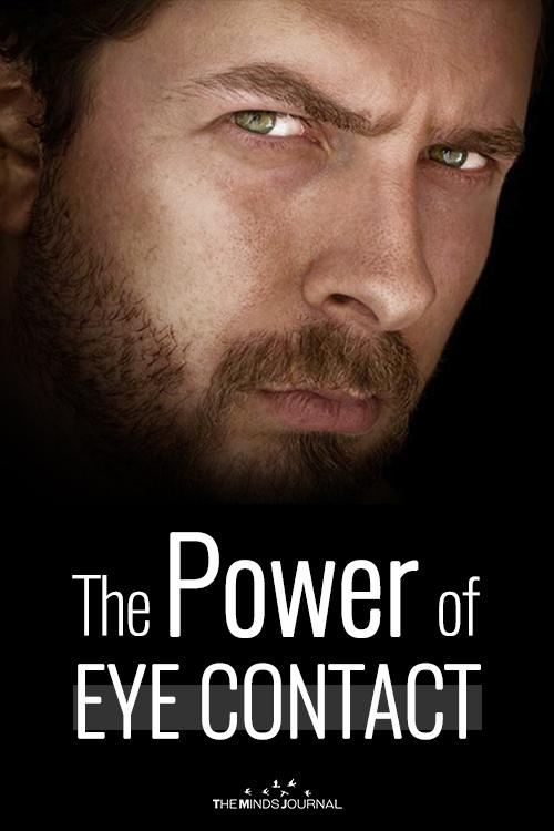 power of eye contact pin