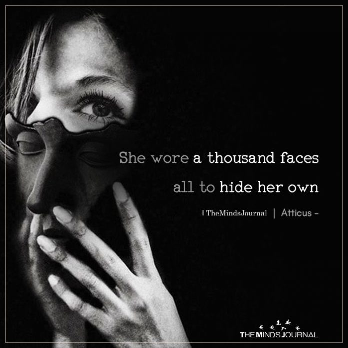 she wore a thousand faces