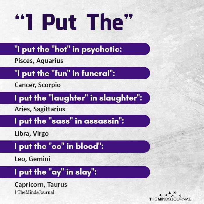 the put the