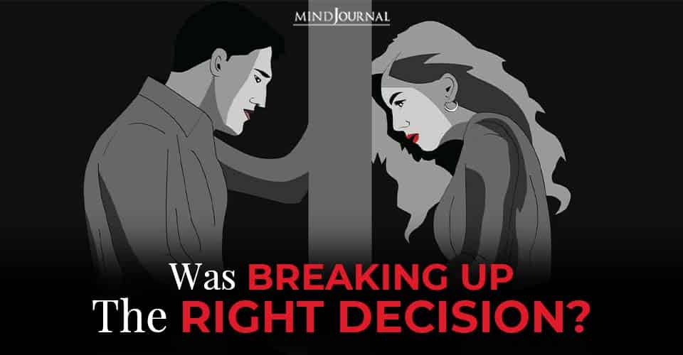 was breaking up the decision