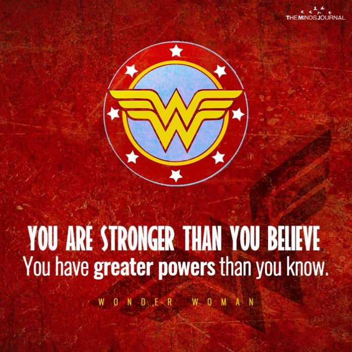 you are stronger than you believe