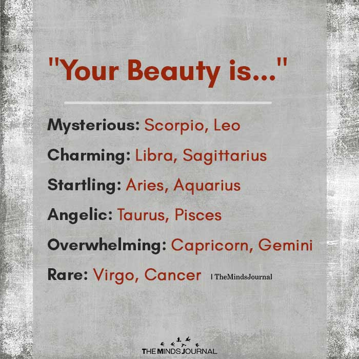 your beauty is