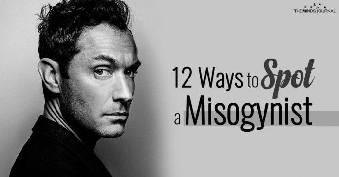 12 Ways to Spot a Misogynist