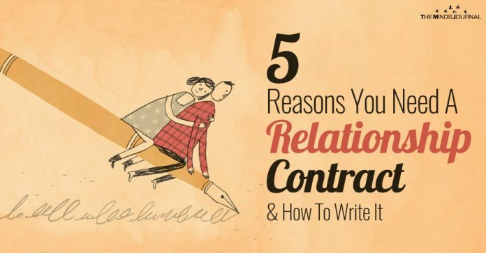 5 Reasons You Need A Relationship Contract and How To Write It