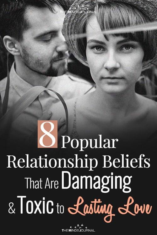 8 Popular Relationship Beliefs pin