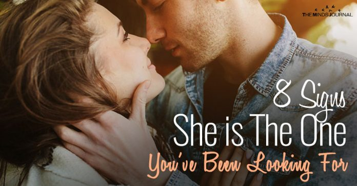 8 Signs She is The One You've Been Looking For