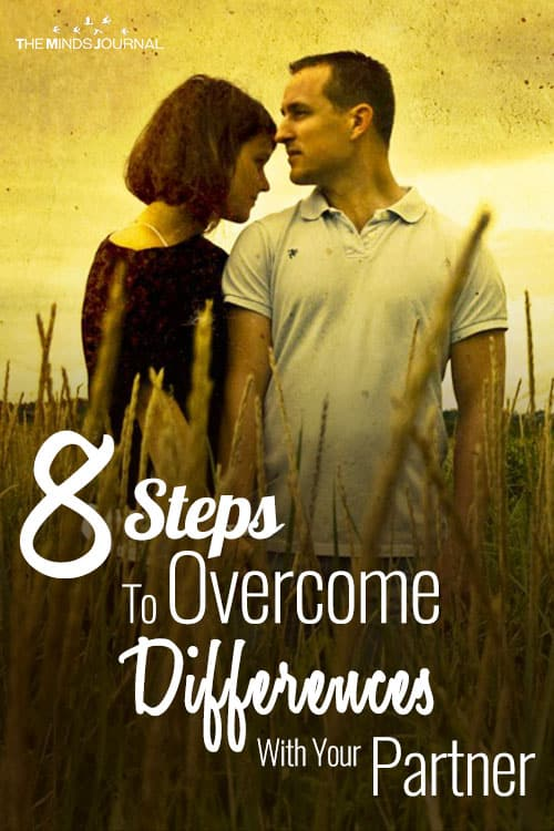 8 Steps to Overcome Differences With Your Partner