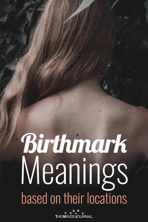 Birthmark Meaning pin