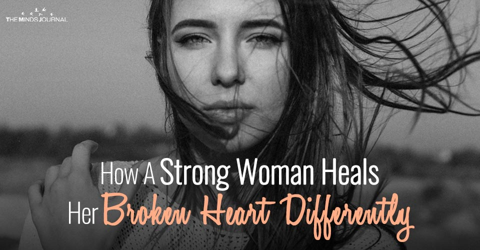 How A Strong Woman Heals Herself