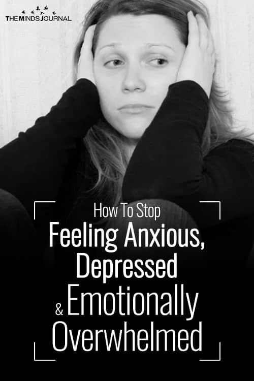 How To Stop Feeling Anxious pin